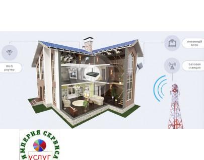 Доставка, монтаж беспроводного -интернета Yota 4G на дачу